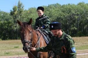 В Оренбурге прошел обряд «Посажение на коня»