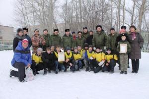 Товарищеский матч казаков и учеников