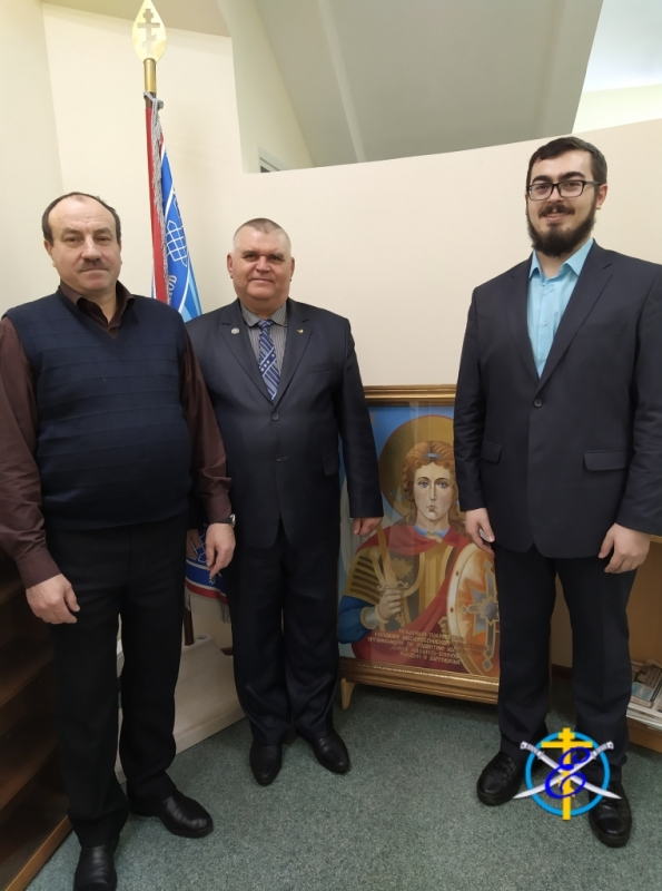 Рабочая встреча в Главном штабе СКВРиЗ