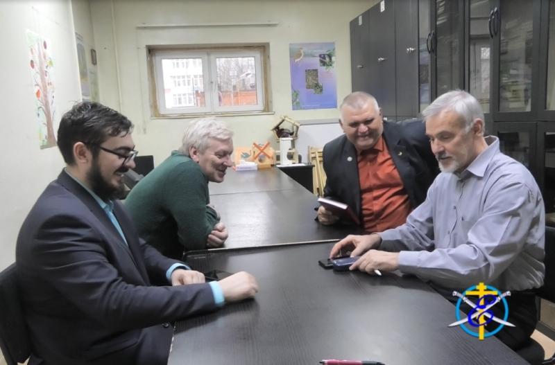 Рабочие встречи в офисе Союзе охраны птиц России