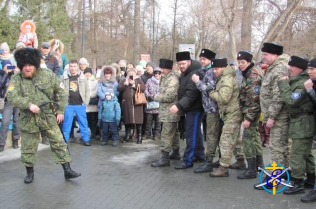 Масленица и первенство Челябинской области по пластунскому многоборью